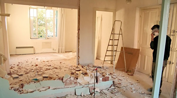 renovation appartement en location